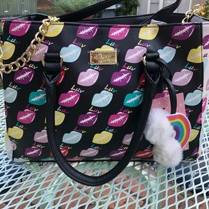 Betsey Johnson purse.
